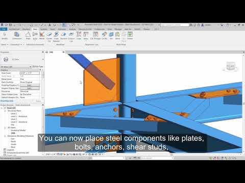 Revit 2019: Tools for Detailed Steel Design
