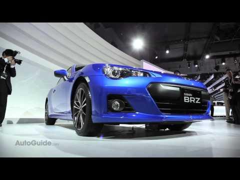 2012 Subaru BRZ STi First Look - Tokyo Motor Show 2011