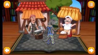 Волк и семеро козлят,интерактивный мультик-игра от AmayaKids