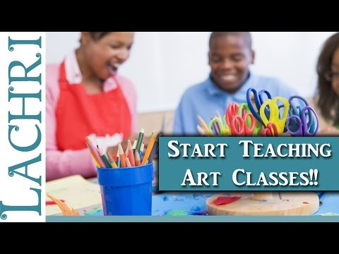 Should you start teaching your own art classes? Artist tips w/ Lachri