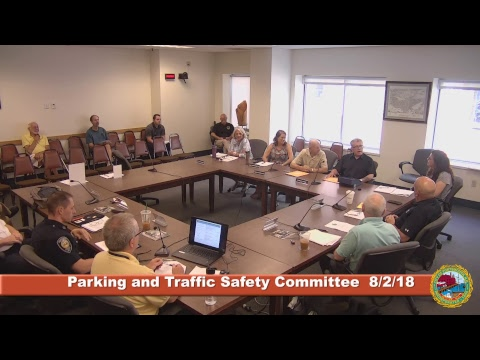 Parking and Traffic Safety Committee 8.2.18