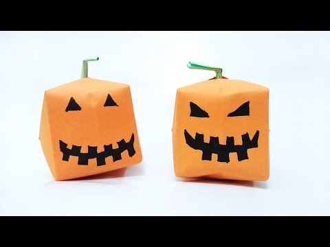 How To Make Origami Pumpkin
