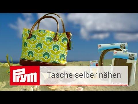 Taschen selber nähen mit Prym | Taschenboden und Taschengriffe aus Leder