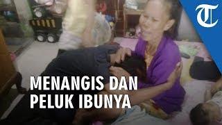 Viral Video Anak Injak Kepala Ibunya, Polisi Kembalikan ke Keluarga, Sang Anak lalu Peluk Ibunya
