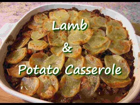 Video Easy Ground Lamb & Potato Casserole Recipe
