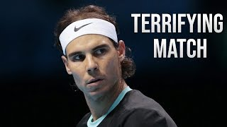 The Most TERRIFYING Match In Rafael Nadal's Career