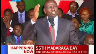 I'm proud of President Kenyatta, confesses DP Ruto | #MadarakaDay2018