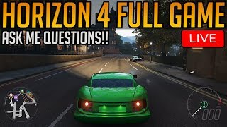 Forza Horizon 4: Full Game Playthrough | Ask Me Questions!!
