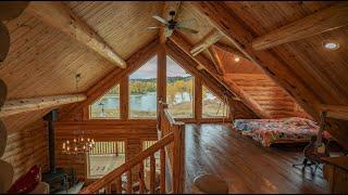1,940 Sq. Ft. Log Cabin, Yellowstone Log Chalet