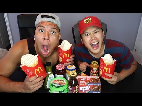 FRENCH FRY CHALLENGE!!