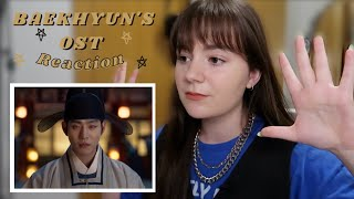 baekhyun's '나인가요 is it me?' OST reaction (i need him to come back asap)