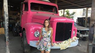 Reforma jacaré Scania Rosa , #74 , paralamas no lugar, tudo se encaixando finalmente 🙏🏼