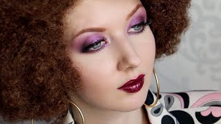Historically Accurate: 1970s DISCO Makeup Tutorial