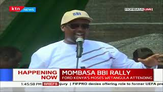 North Eastern Governors address during  #MOMBASA BBI RALLY