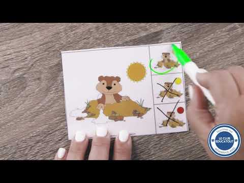Brico-jeux : Le jeu de la marmotte