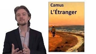 Camus, L'Étranger - Commentaire De Texte En Français