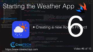 SwiftUI Weather App 6: Creating the Mobile App