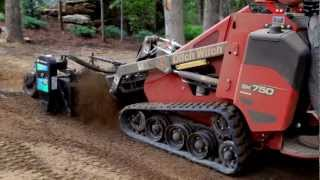 The Ditch Witch SK750 and SK755