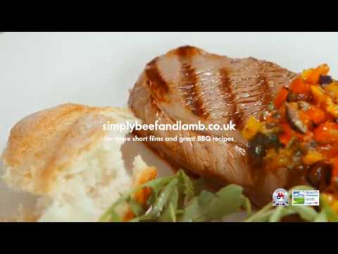 BBQ Lamb with Olive Tapenade
