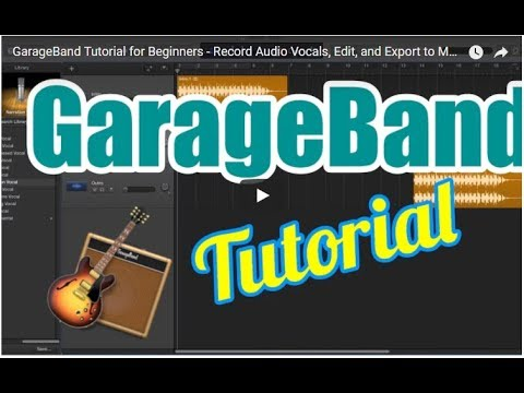 Recording and Editing a Vocal Audio , Edit in Apple GarageBand | Tutorial In Hindi