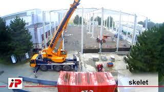 Výstavba skladovací haly pro společnost PF PLASTY, Chuchelná