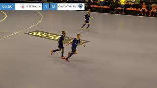 Finale Régionale Futsal U13 (Besançon) : Racing Besançon / CA Pontarlier (1-1 ; 3 tab 2)