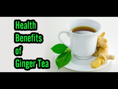 Video 12 Health Benefits of Ginger Tea
