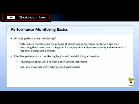 Windows Server (MTA Exam 98-365) - 10 Performance ... - YouTube