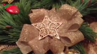 VLOG:  Making a Wreath with Fresh Pine Boughs