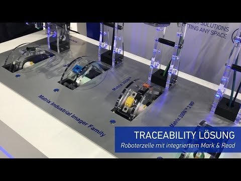 Datalogic @ SPS Nuremberg 2019 - Stationäre Industriescanner Lösung