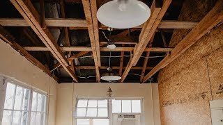Renovate A Barn Into Dream Workshop / Office / Studio   EP: 1 Demo Day
