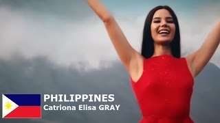 Catriona Elisa Magnayon Gray Contestant from Philippines for Miss World 2016 Introduction