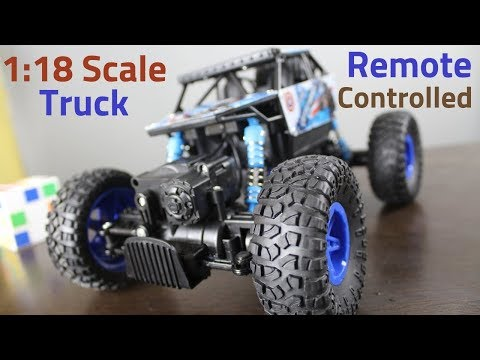 Offroad RC Truck 1:18 Scale UNBOXING And TEST DRIVE | SportShala | Hindi |