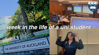 WEEK IN THE LIFE OF A NEW ZEALAND UNI STUDENT: classes, campus, halls