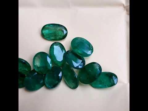 Natural Zambian  Emerald Gemstones