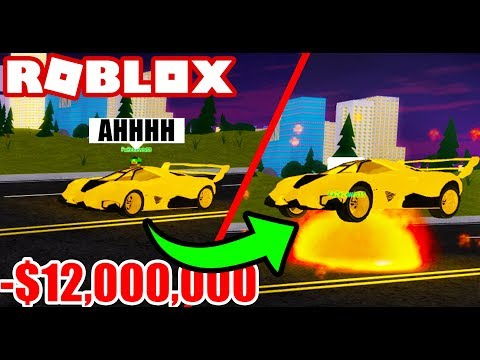 Stealing SUPER CARS in Vehicle Simulator! - Roblox Vehicle