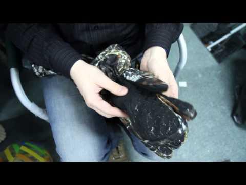 Перчатки-варежки «Grizzly» 3 в 1. Видеообзор.