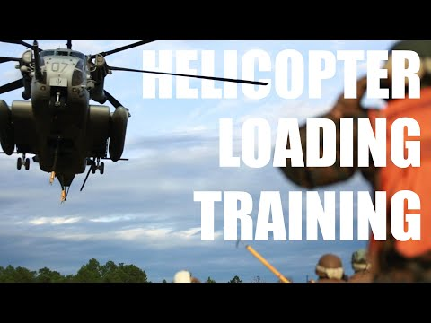 Helicopter Loading Training