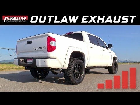 2009-20 Toyota Tundra 4.6L, 5.7L - Outlaw Cat-back exhaust system 817692