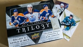 16/17 Upper Deck Trilogy Box Break + REVIEW