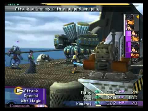 final fantasy x 2 playstation 2 walkthrough