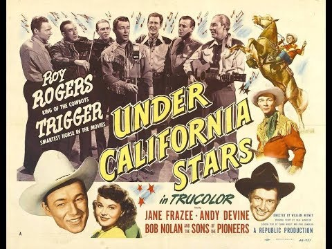 Under California Stars - Roy Rogers (1948) / Full Movie