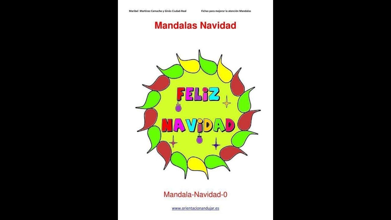 VILLANCICO Feliz Navidad con Mandalas Orientación Andújar