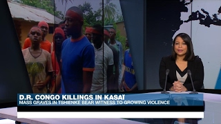 Mass graves bear witness to growing violence in DR Congo