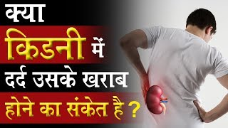 What Is Kidney Pain ? Kidney Pain क्या संकेत देता  है ? | Kidney Treatment without dialysis