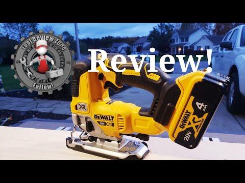 DEWALT 20-Volt MAX XR Brushless Cordless Jigsaw?REVIEW! (DCS334B)