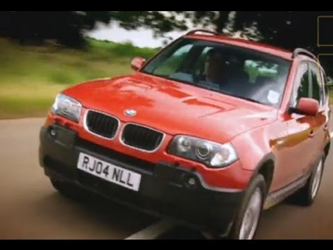 BMW X3 car review - Top Gear - BBC