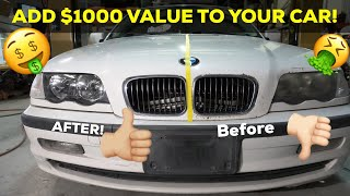 HOW TO ADD $1000 VALUE TO YOUR CAR IN UNDER AN HOUR! -  Rock chip fix / delete