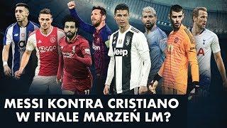 Messi kontra Cristiano w finale marzeń Ligi Mistrzów? Live po losowaniu