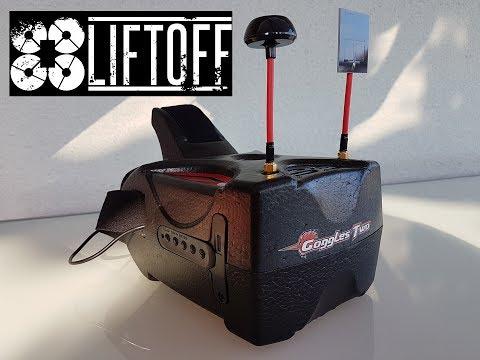 LiftOff and HDMI input on Eachine Goggles Two - 5 Inches 5.8G Diversity 40CH FullHD 1080p HDMI in - Banggood